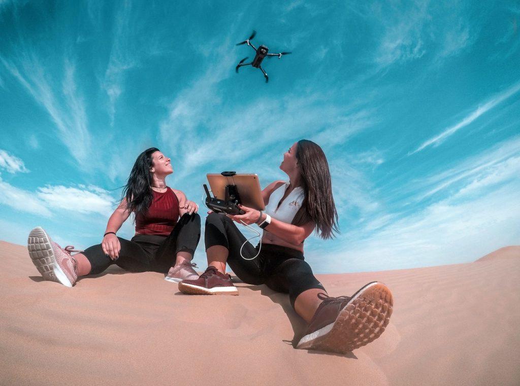 Een drone kopen als voorbeeld van een financieel doel