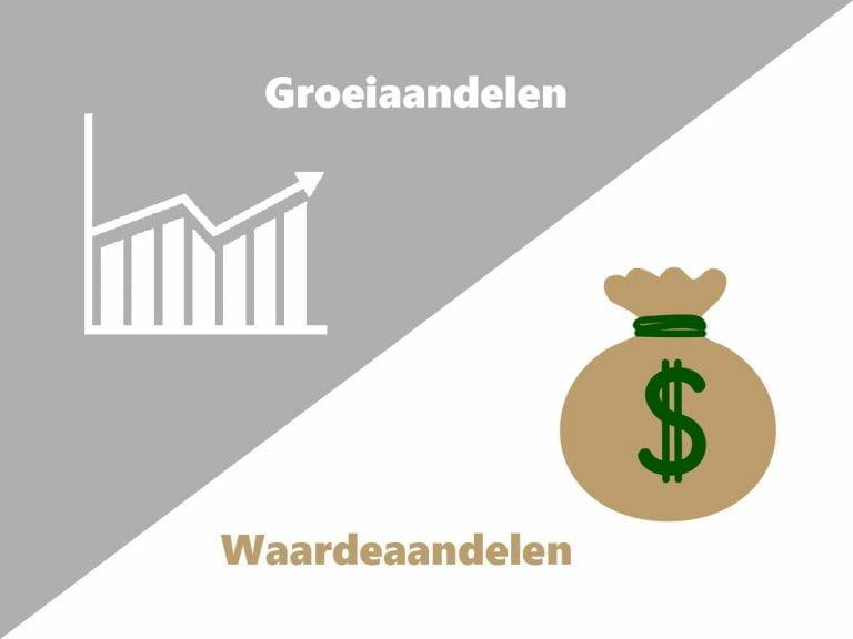 verschil groeiaandelen en waardeaandelen