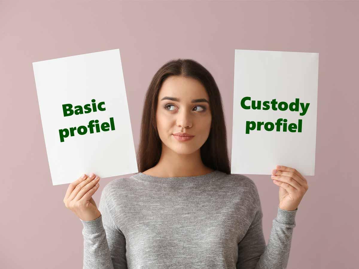 basic of custody DEGIRO